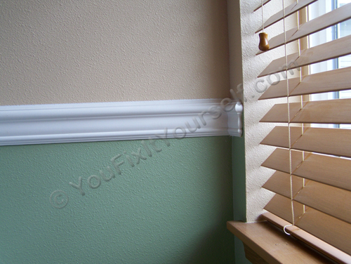Chair Rail Trim Molding Height Ask Eli at YouFixItYourselfcom