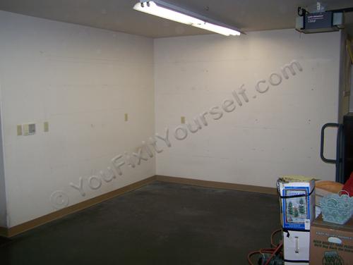 Garage Shelves layout