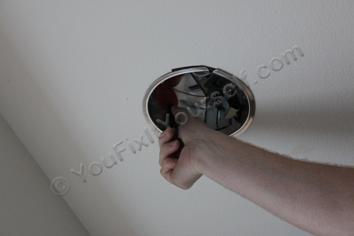 Securing Recessed Can Light Housing To Ceiling
