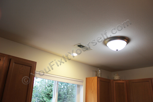 Recessed Can Light Installation Complete