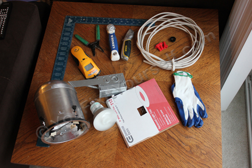 Things You Will Need to Install a Recessed Can Light